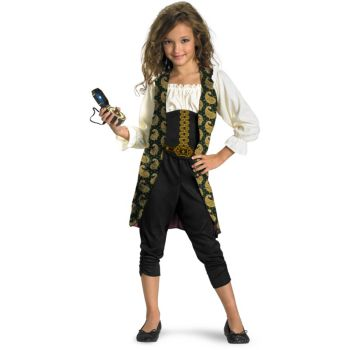 Pirates of the Caribbean 4 On Stranger Tides - Angelica Child Costume