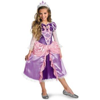 Tangled - Rapunzel Lame Deluxe Toddler  Child Costume