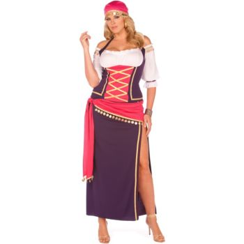 Gypsy Maiden Plus Adult Costume