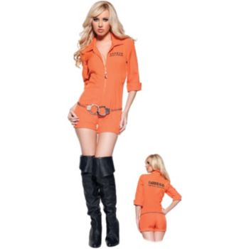 Busted Sexy Adult Costume