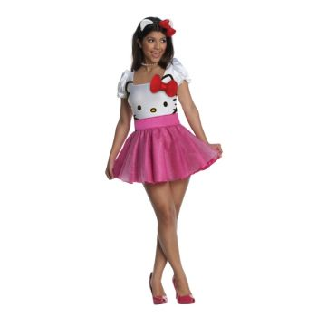 Hello Kitty Adult Costume
