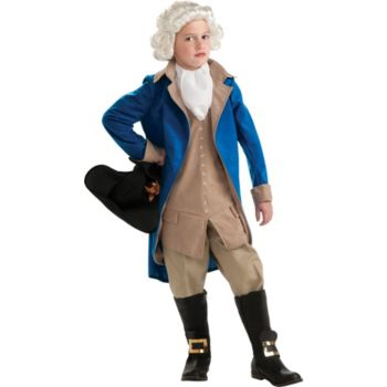 Colonial George Washington Child Costume