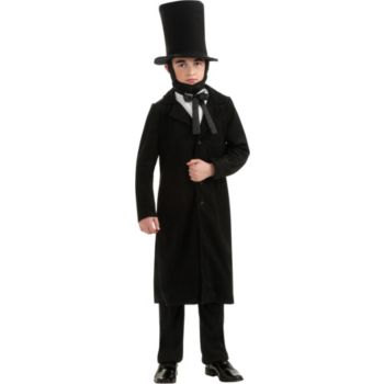 Deluxe Child Abraham Lincoln Costume