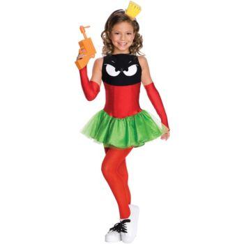 Marvin the Martian Girl Child Costume