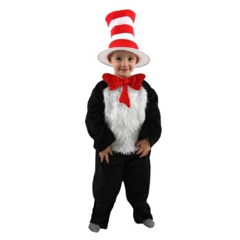 Dr. Seuss Cat in the Hat Toddler  Child Costume