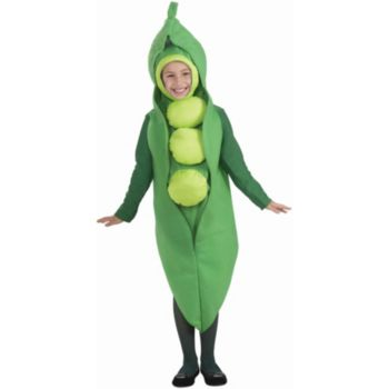 Peas Child Costume