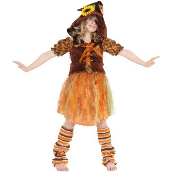 Serena the Scarecrow Child Costume