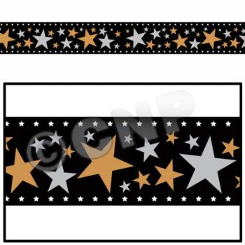 STAR FILMSTRIP  DECORATING ROLL