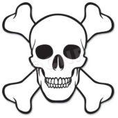 Skull & Bones Cutout