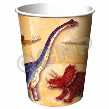 DINOSAUR PARTY 9 oz. CUPS