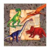 Dinosaur Party Beverage Napkins