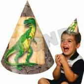 Dinosaur Party Cone Hats