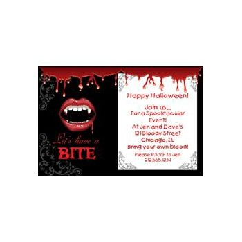 Fangtastic Personalized Invitations