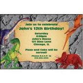 Dinosaur Party Personalized Invitations
