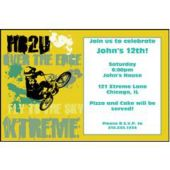 Xtreme Sports Personalized Invitations