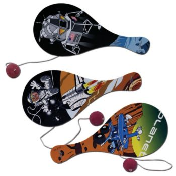 OUTER SPACE  PADDLE BALLS
