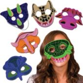 Dinosaur Masks - 12 Pack
