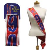 90Th Birthday Satin Sash