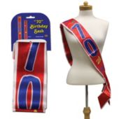70th Birthday Satin Sash