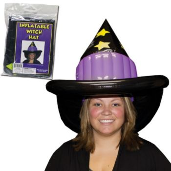 Inflatable Witch Hat - 18 Inch