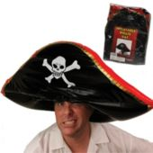 Pirate Inflatable Hat 24""