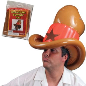 Inflatable Cowboy Hat - 20 Inch