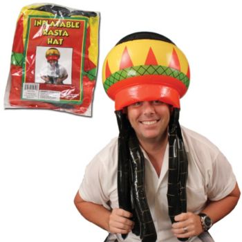 Inflatable Rasta Hat