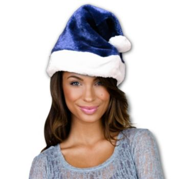 Santa Claus  Navy Blue Hat