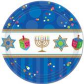 "Hanukkah Celebrate 10 12"" Plates"