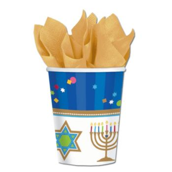 Hanukkah Celebrate 9 oz. Cups