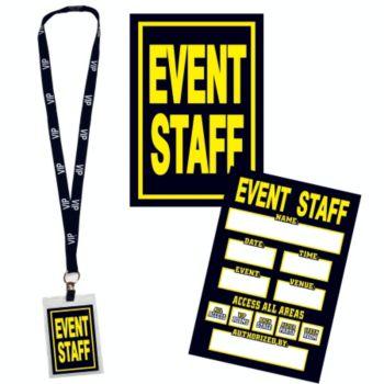Event Staff VIP Lanyard
