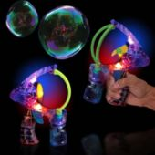 Super Duper LED and Light-Up Bubble Gun