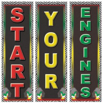 Start Your Engine Cardboard Cutouts