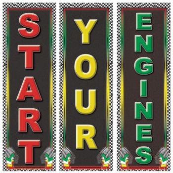 Start Your Engine Cardboard Cutouts