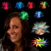 Fiber Optic Bow LED Fascinator