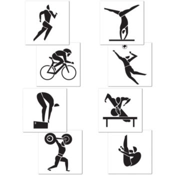 Olympic Summer Games Cutouts