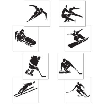 Olympic Winter Games Cutouts