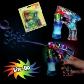 Lite Up Bubble Gun