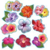 Hibiscus Mini Cutouts-10 Per Unit