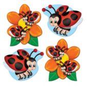 Ladybug Mini Cutouts-10 Pack