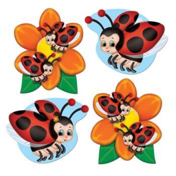 Ladybug Mini Cutouts