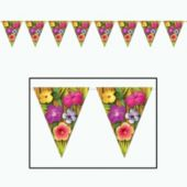Luau Pennant Banner Decoration