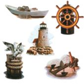 Nautical Cutouts-5 Pack