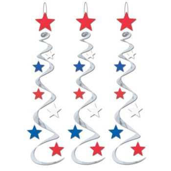 Patriotic Star Whirls
