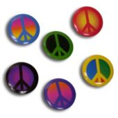 Peace Sign Metal Pins