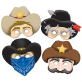 Western Masks - 12 Pack