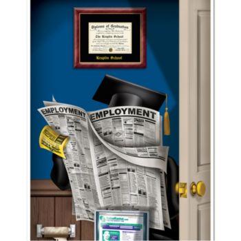 Graduate Bathroom Door Cover