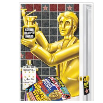 Awards Night Bathroom Door Cover