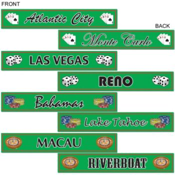Casino Destination  Cut Outs