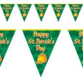 St. Patrick's Day Pennant Banner Decoration